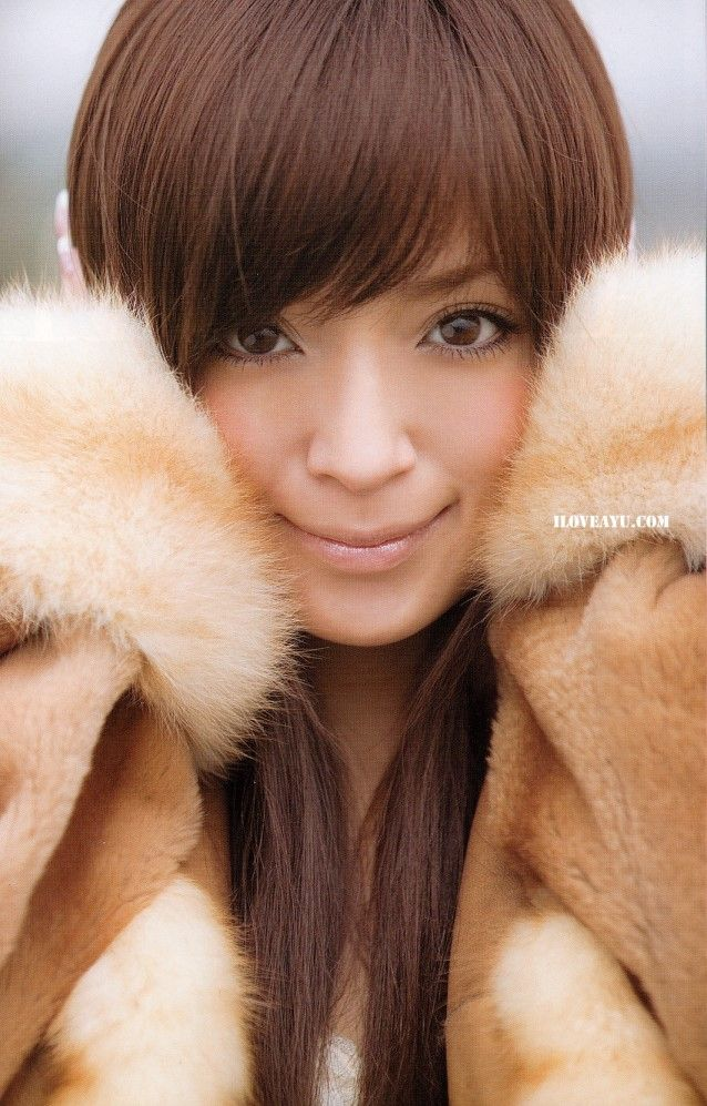 Ayumi Hamasaki from the (miss)understood era.  Love her hair color here. :)