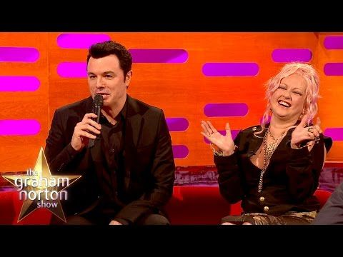 The Graham Norton Show: Seth MacFarlane Sings Cyndi Lauper's Greatest Hits As Stewie and Peter Griffin