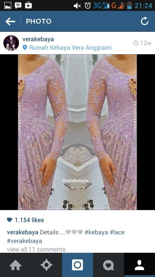 detail draperry purple kebaya