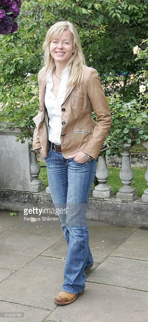 Lady Helen Taylor attends The Ralph Lauren Wimbledon Garden Party at Froebel House on June 21, 2008 in London, England