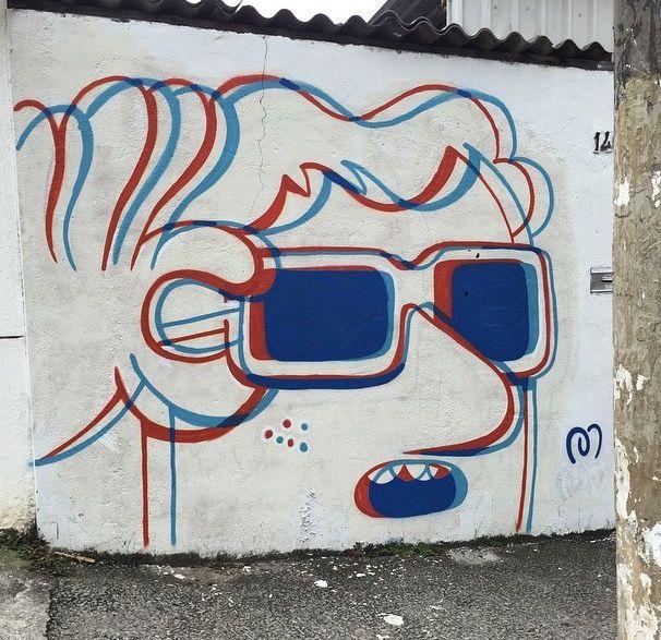 By mauro golin aka muretz in s o paulo lp art for Graffitis y murales callejeros
