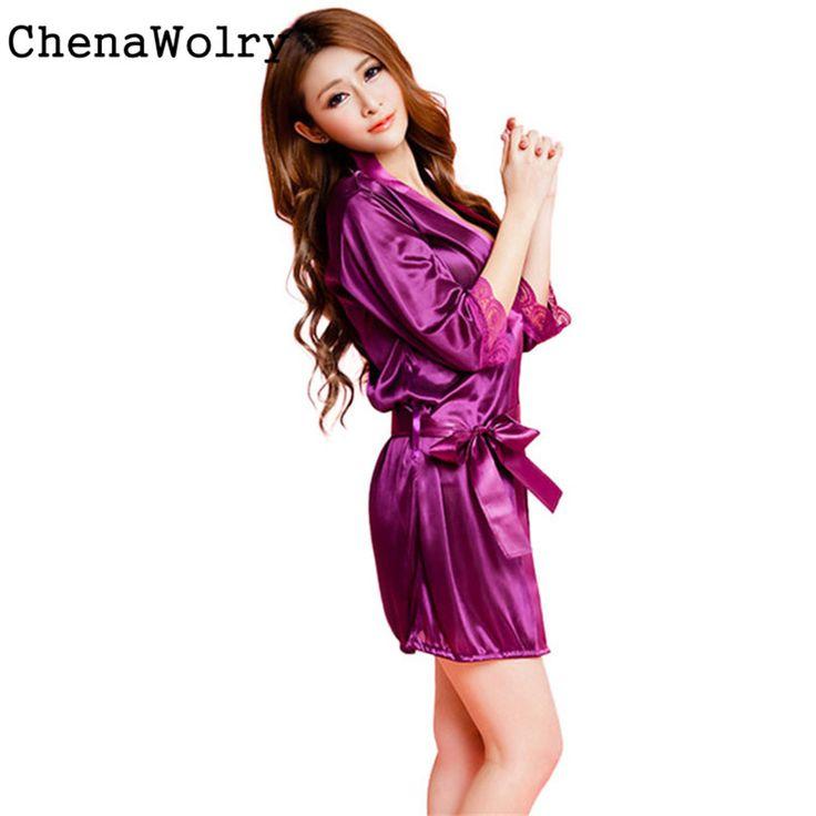 ChenaWolry 1PC Hot Sales Attractive Luxury Women Fashion Classic Bathrobe Pure Role-playing Sexy Lingerie Wild Temptation Nov 3 #Affiliate