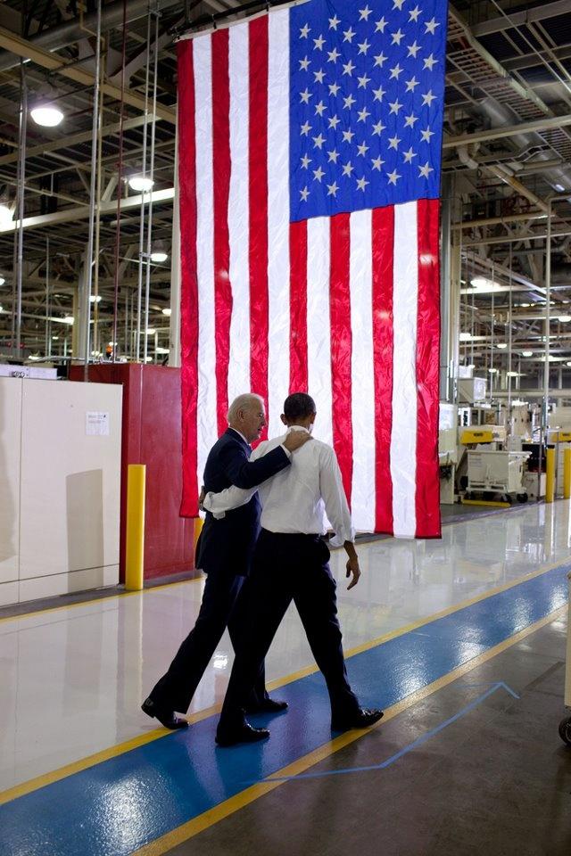 President Obama and Vice-President Biden:) !