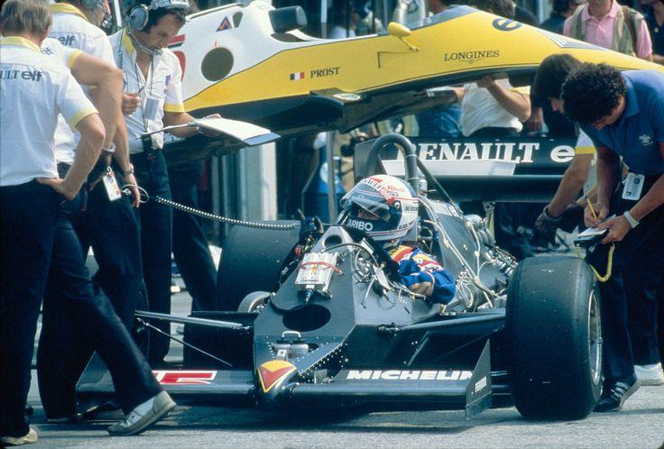 Alain Marie Pascal Prost (FRA) (Equipe Renault Elf), Renault RE40 - Renault-Gordini EF1 1.5 V6 1983 © Renault Sport F1