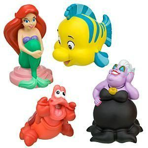 Fun Under The Sea: The 6 Best Little Mermaid Bath Toys | Baby Bath ...