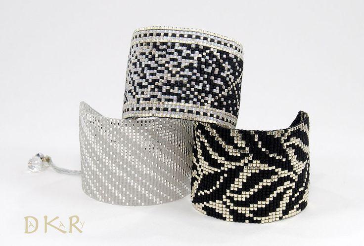 DAKARY COLLECTION SPRING / SUMMER 2017 Pulseras - Bracelets SPARKLY Collection Cristal-Grey Mist, PRISMA Collection Black & White y SHEET Collection Black & Silver