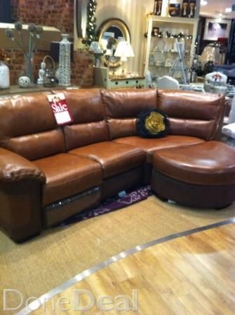 Leather Corner Couch