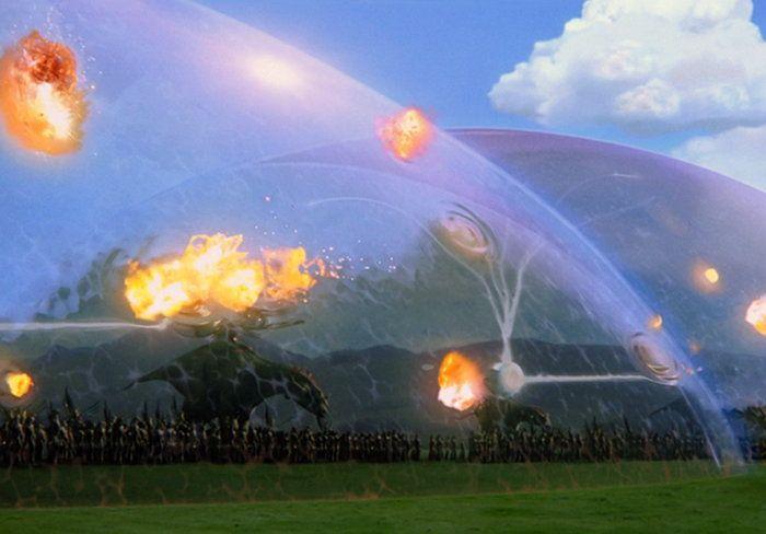Boeing patenta un campo de fuerza para protección contra explosiones, tipo Star Wars y Star Trek