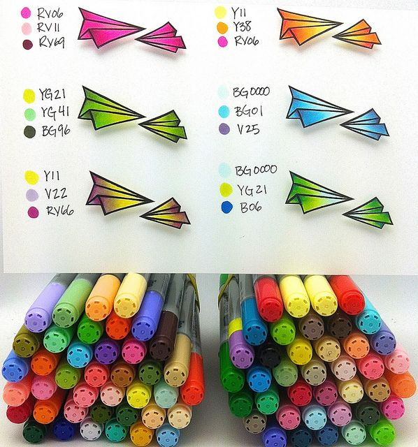 121 best Coloring & Copic Markers images on Pinterest