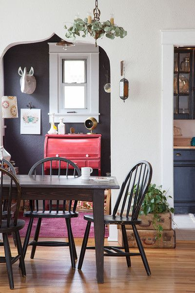 Mix It Up Eclectic Dining RoomsUrban FarmhouseSweet