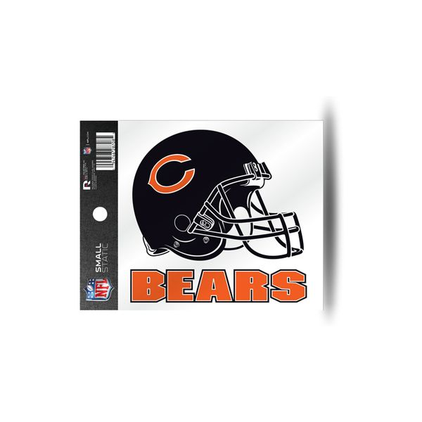 Chicago Bears Static Cling Helmet Window Decal Sticker #ChicagoBears #Bears  #NFL