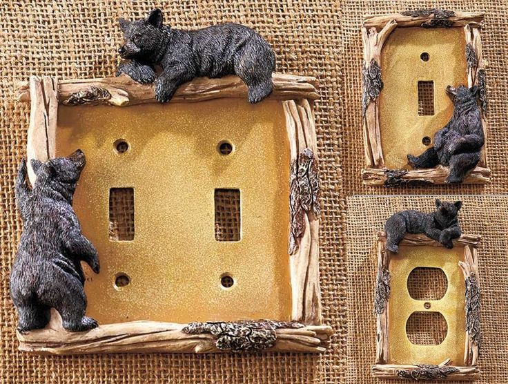 14 Best Rustic Switch Plate Covers Images On Pinterest