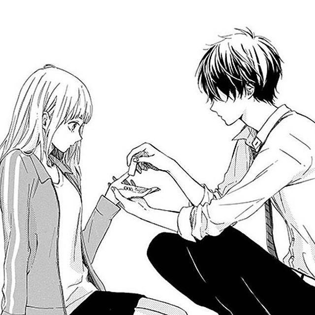 Manga about a girl dating a guy who girlfriend died