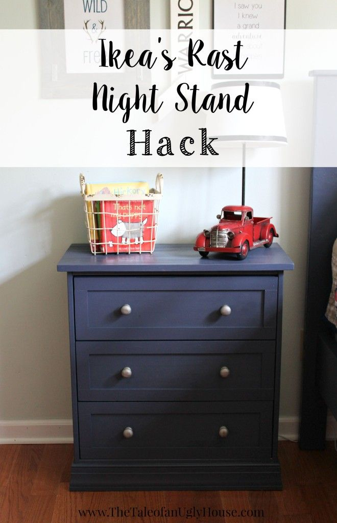 ikeau0027s rast nightstand hack the tale of an ugly house
