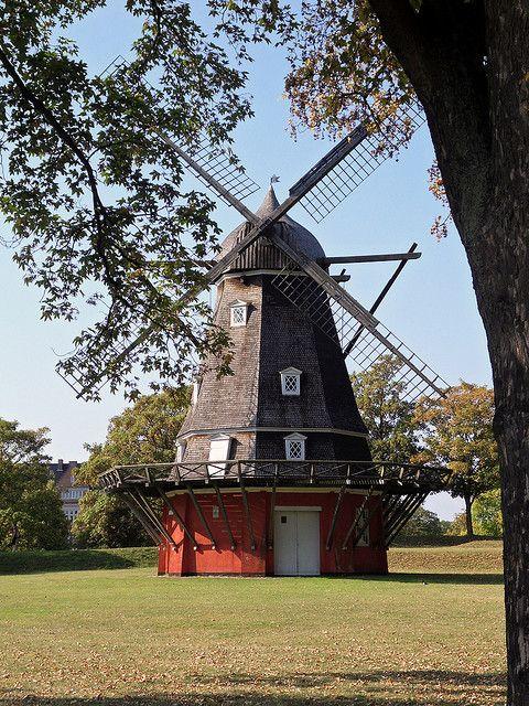 Windmill - Kastellet, Copenhagen, Denmark