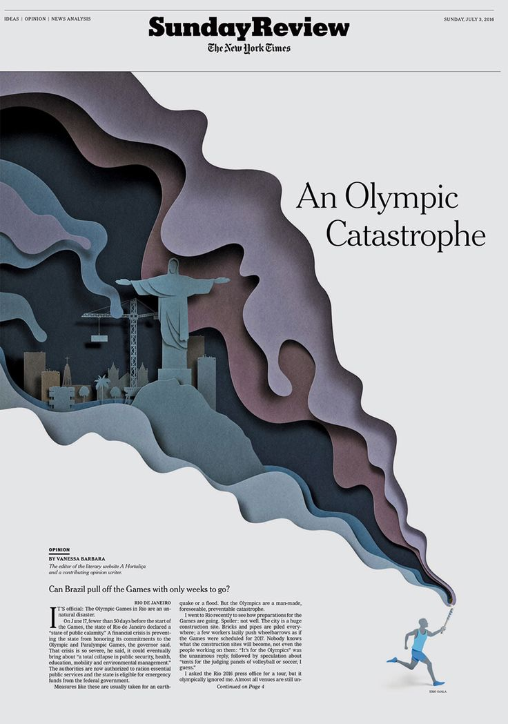 The Sunday Review – An Olympic Catastrophe