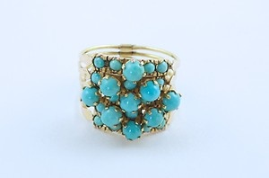 Turkish harem ring.