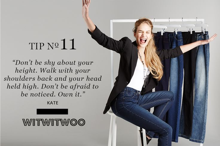 17 Life Changing Style Tips For Tall Women #11 http://www.verafclothing.com/