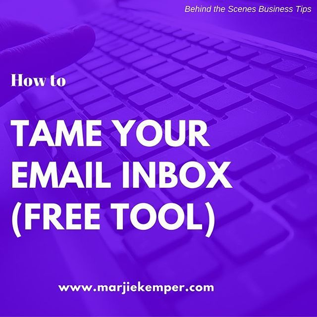 This free tool from @unrollme saves time and aggravation with email management. Link to blog post in profile.  #businesstip #businesstips #timemanagement #email #emails #efficiency #worksmarter #worksmarternotharder #marjiekemper #unrollme