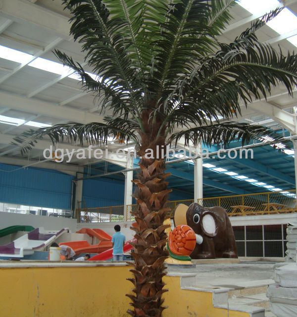 Source Wholesale Artificial Palm Tree Fake Plastic Palm Tree For Decoration And Landscaping On M Alibaba Com Fake Palm Tree Tropical Backyard Palm Trees