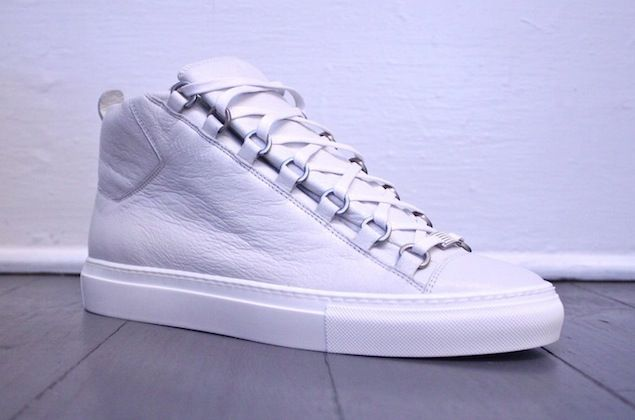 Balenciaga Arena Sneaker. White. New Hip Hop Beats Uploaded EVERY SINGLE DAY  http://www.kidDyno.com