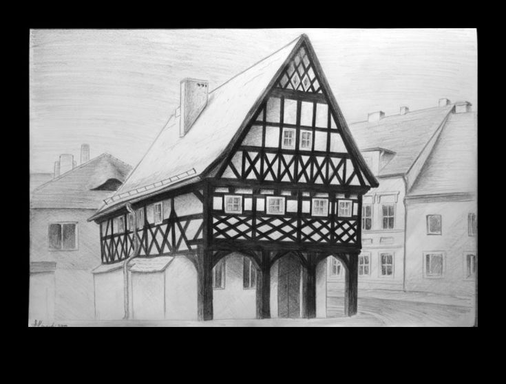 Sulików #pencil #sulikow #architecture #pencildrawing #academic #art