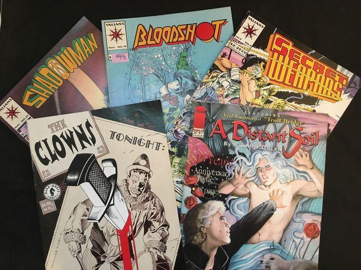 The Clowns / A Distant Soil – w/ Gaiman's Troll Bridge + More : 5 Comics Set in Books, Magazines, Comic Books | eBay!