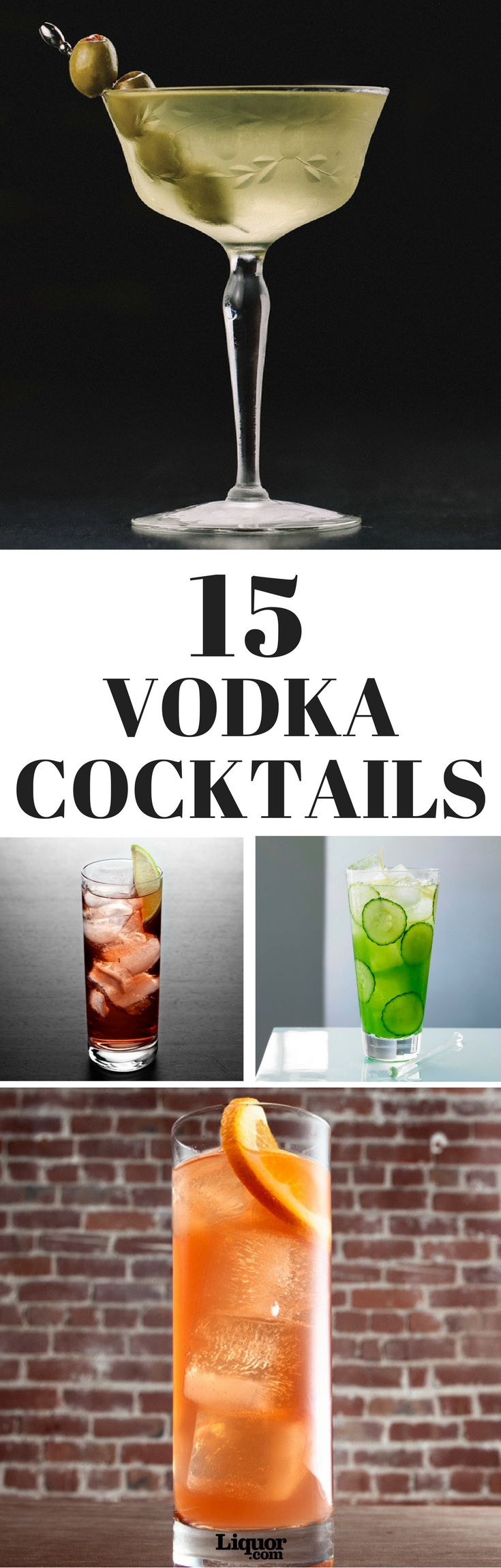 Vodka drinks utilize the neutral taste of the spirit to blend seamlessly with just about anything. From the classic Vodka Martini to the fruity Cosmopolitan, check out some of our favorite Vodka Drinks.