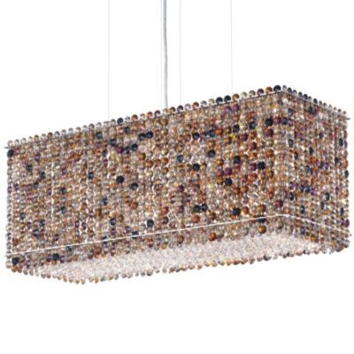 Matrix Rectangle Linear Suspension by Schonbek Lighting