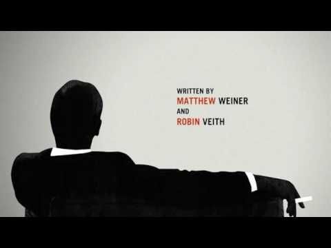 Mad Men - Intro, AMC TV Series 50's/60's style Motion Graphics - YouTube