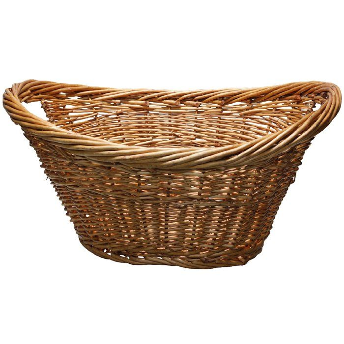 Willow Laundry Wicker Basket Wicker Baskets With Handles
