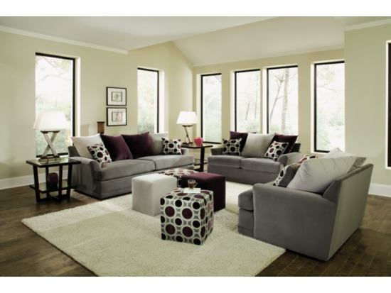 Radiance Pewter 3-PC Living Room Package - Value City Furniture - 35 Best Images About -Value City Furniture- On Pinterest Master