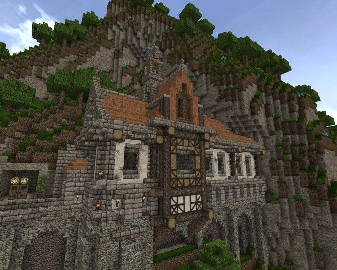 How To Build A Minecraft Mansion Pe