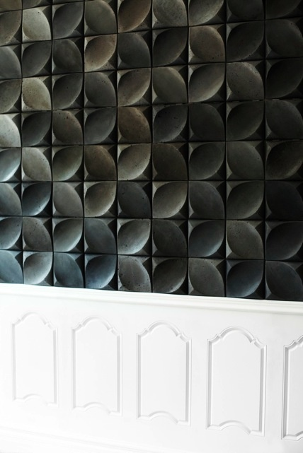 Dune 3d wall tiles by urban product can be produced in for 3d concrete tiles