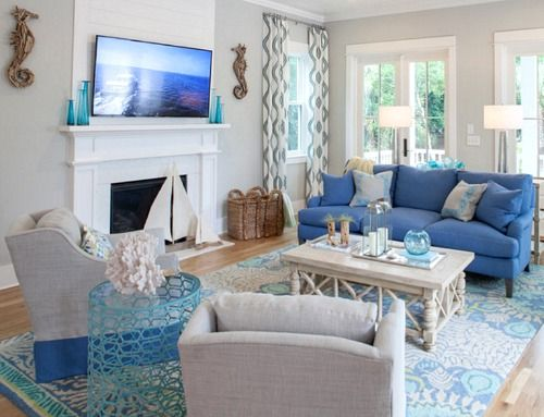 Southern Living Living Rooms Interior   Home Design Ideas