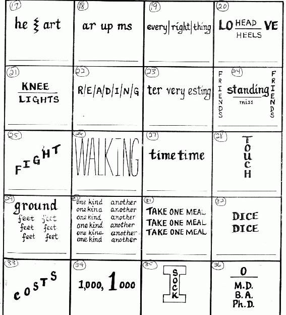Printables Rebus Puzzle Worksheets 1000 ideas about rebus puzzles on pinterest word mtbos more