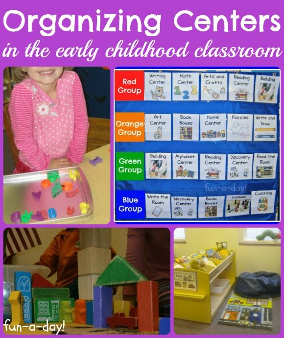 organizing centers, organizing centers in preschool, organizing centers in kindergarten