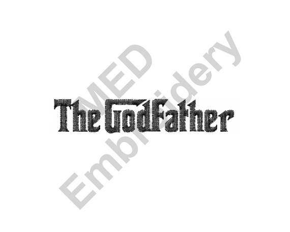 The Godfather Machine Embroidery Design Machine Embroidery Designs Embroidery Designs Machine Embroidery