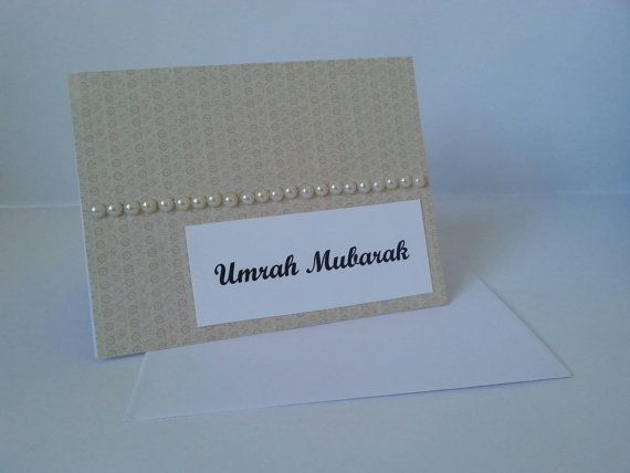 Check out this item in my Etsy shop https://www.etsy.com/ca/listing/254526628/umrah-mubarak-card-umrah-congratulations