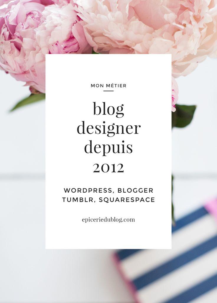 #freelance pour création #blog #minimaliste. #wptheme #blogdesign #webdesigner…