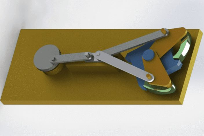 90 degree indexing mechanism