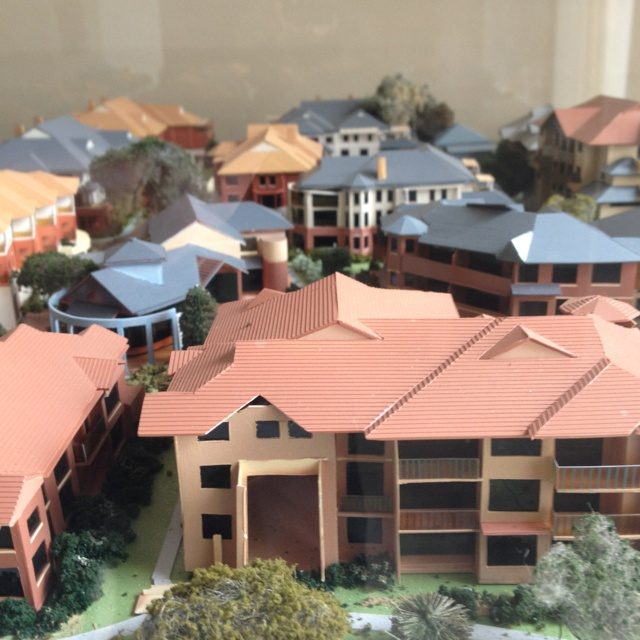 THIS may be a model - but the real estate includes domeciles in the million dollar + range... One of the premium retirement villages in Australia.... Interesting challenge ...