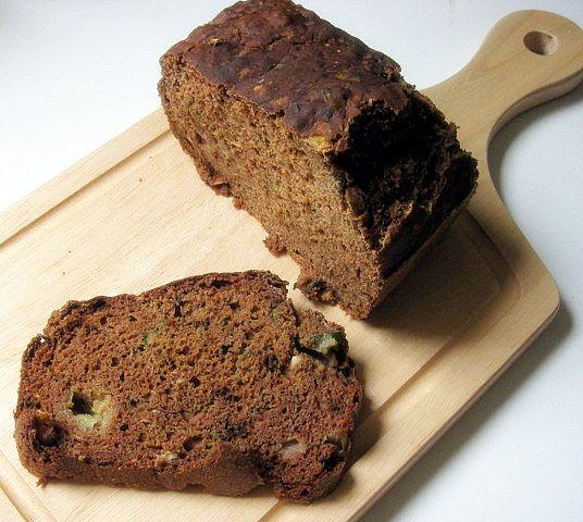 Zucchini bread - buckwheat, fat free, gluten free, savory ...