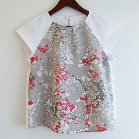Burda Couture Facile Couture facile Printemps-été 2012, 4 A Blouse
