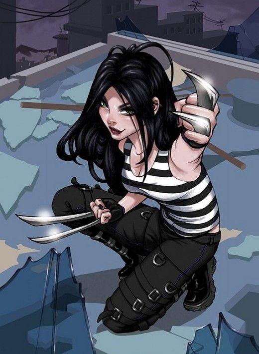 X-23 - Marvel Comics, marvel vs. Cap com 3 costume