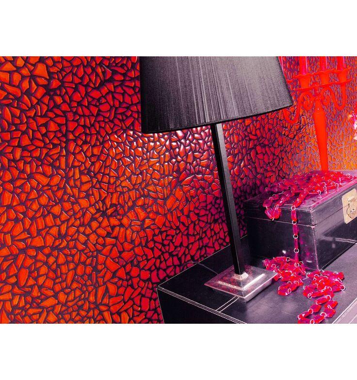 Mosaik - Kakelmonster | Mosaik Trencadis Röd 27.2x27.6