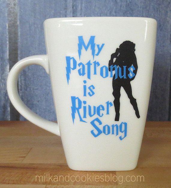 Doctor Who Mug: My Patronus is River Song