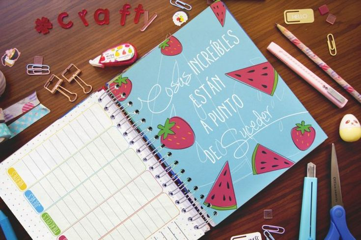Crafty Planner ¡Organiza tu vida de una forma creativa! ~ Craftingeek