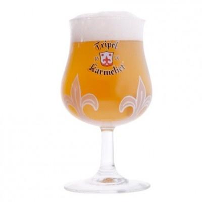 Verre bière Belge Karmeliet Triple 25cl