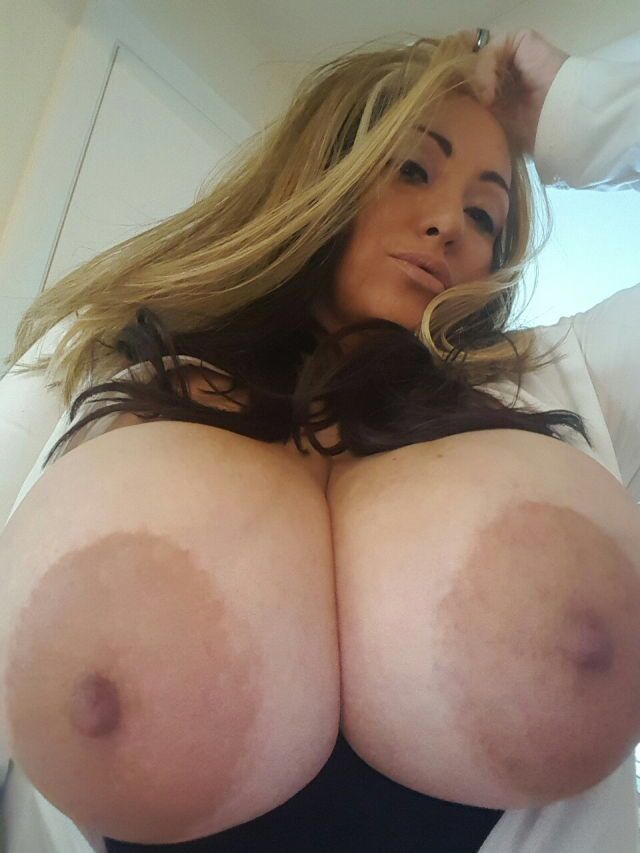 My wife has huge boobs